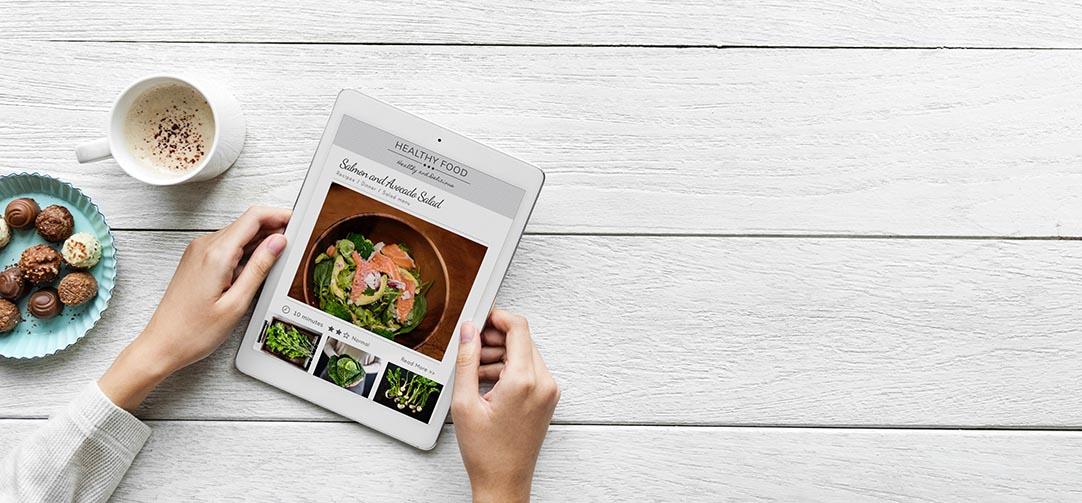 Adoria - L'inventaire : Première fonctionnalité sur tablette