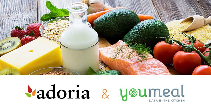 Adoria - [Communiqué de presse] Adoria annonce son partenariat avec Youmeal  éditeur d'un logiciel d'analyse...