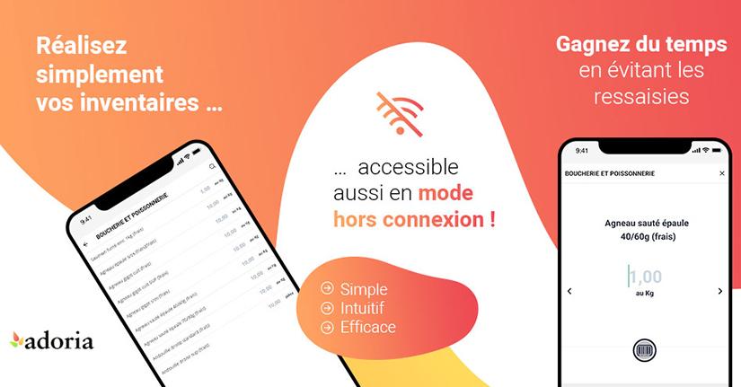 Adoria - Avec la nouvelle application mobile Adoria  réalisez facilement vos inventaires