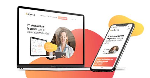 Adoria - Lancement de notre nouveau site web
