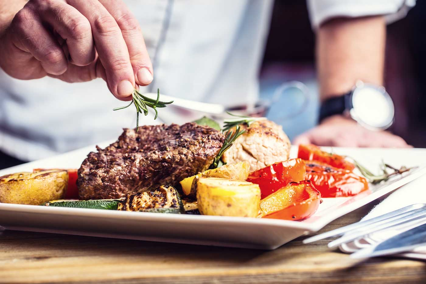 Adoria - Les attentes des convives d'un restaurant commercial ou collectif quant au chef et son univers