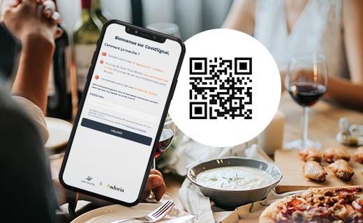 Adoria - Adoria et SoyHuCe lancent CovidSignal, un cahier de rappel digital 100% gratuit : simple, fiable et...