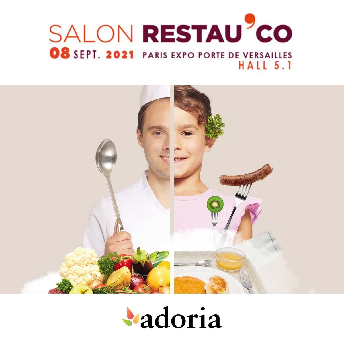 Adoria - Retrouvez Adoria au salon Restau'Co 2021 à Paris !